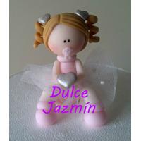 Souvenirs Nenas En Porcelana Fría
