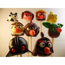 Angry Birds Star Wars !!!! 40 Brochettes En Porcelana Fria