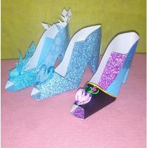 5 Zapatos De Frozen O Cenicienta Ideal Para Tu Mesa Candybar