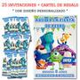 Monster University Cumpleaños 25 Invitaciones Personalizadas