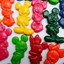 Crayones - Souvenirs - Mickey - Minnie - Cumpleaños -packx24