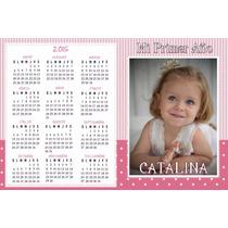 10 Almanaques Personalizados Cumpleaños Candy Bar Con Foto