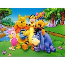 Individuales Posa Vasos Infantil Winnie Pooh Super Original