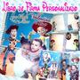 Libro De Firmas Personalizado Cumpleaños Frozen Mickey Cars