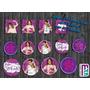 Candy Bar 100 Stickers Personalizados Cumpleaños Niño Niña