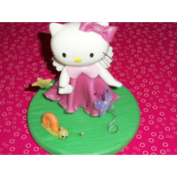 Adorno Torta Kitty Linda