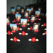 Minnie O Micckey Portafoto Souvenir Porcelana Fria!!!
