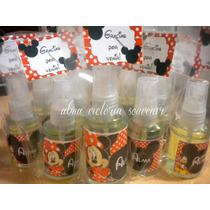 Souvenir Minnie Y Mickey Mouse Perfumes Personalizados 35cc