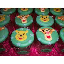 Souvenirs Winnie The Pooh Y Tiger -frascos Golosineros -mirá