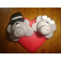20 Iman En Porcelana Fría Para Souvenir Casamiento!!!
