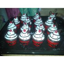 Cupcakes Souvenirs Porcelana Fria