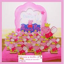 Souvenirs Pepa Pig Cumpleaños Bautismo X 10 Unidades.