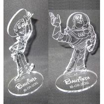 Souvenir Acrilico Toy Story Buzz Lightyear Budi C/tu Nombre