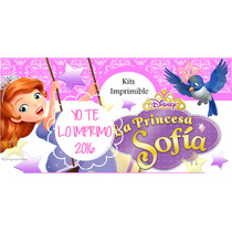 Kit Imprimible Princesa Sofia Incluye Candy Ytli2016