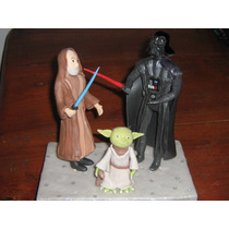 Star Wars-guerra De Las Galaxias - Adorno Torta