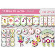 Kit Cumpleaños Hada Del Jardin