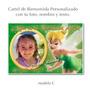 Campanita Tinker Bell Cartel De Cumpleaños Con Tu Foto