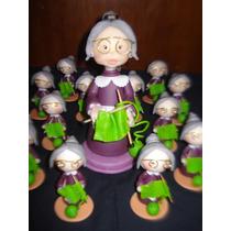 Souvenirs Abuelas En Porcelana Fria!!!!
