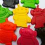 Crayones - Souvenirs - Toy Story - Cumpleaños - Marcianitos