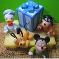 10 Souvenirs Baby Disney Mickey Minnie Pluto Donald Daisy