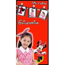 Cartel De Bienvenida/almanaque 50cmx50 Lona Cm