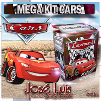 Mega Kit Imprimible 100% Editable Cars Regalos Jose Luis