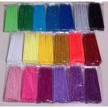 Vela De Cumpleaños Con Gibre - 15 Cm. - 20 Colores Intensos