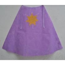 Capa Friselina Rapunzel, Cumpleaños Inf.,souvenirs, Temático