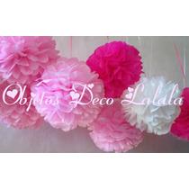 Pompas Flores De Papel Para Colgar Objetos Deco Lalala