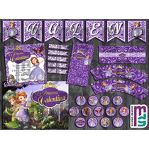 Princesa Sofia Candy Bar Kit Imprimible Personalizado Cumple