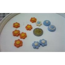 Pack De Flores En Porcelana Fria