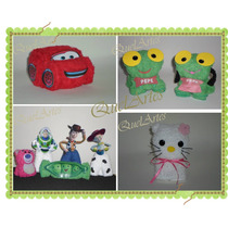 Souvenirs De Toalla(perritos,toy Story,cars,kitty,pepe) X 10
