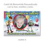 Toy Story - Woody - Buz Cartel De Cumpleaños Con Tu Foto