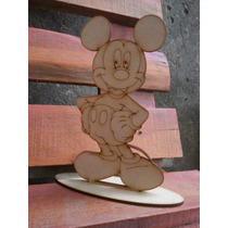 Mickey Minie Fibrofacil Souvenir Centro De Mesa