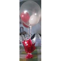 Centros De Mesa Con Globos Bautismo 15 Años Cumpleaños