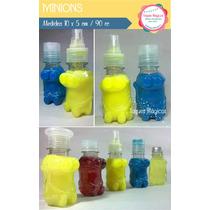 Envase Souvenir Botellitas Minions Candy Bar X 10 Unidades!