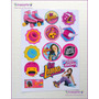 Soy Luna Plancha De Stickers Imagenes Surtidas A4 / Floresta
