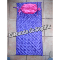 Set De Colchoneta Y Almohada Para Spa De Nenas