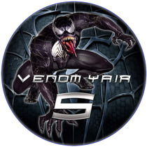 Imágenes Spiderman Negro Venom Kit Digital Imprimible