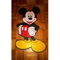 Figuras Infantiles En Goma Eva (mickey Mouse)