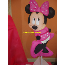 Centros De Mesa Minnie Mouse.