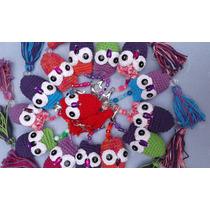 Llaveros Lechuzas Tejidas A Crochet. Ideal Souvenirs