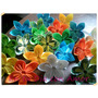 Souvenirs Flores Origami! Nacimiento Bautismo Comunión 15 ..