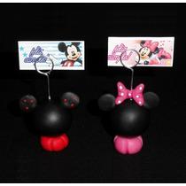 Souvenirs Minnie Mickey Porta Foto