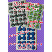Stickers Para Candy Bar