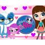 Kit Imprimible Littlest Pet Shop Incluye Candy Bar