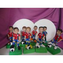 Jugador De Futbol Personalizado En Porcelana Fría