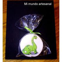 Tizas Con Pizarra - 12 Un. - Gran Dinosaurio - Souvenirs