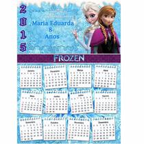 12 Almanaques Personalizados Cumpleaños Candy Bar Con Foto