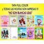 30 Souvenirs Anotador Impreso Personalizado - Con Tapa !!!